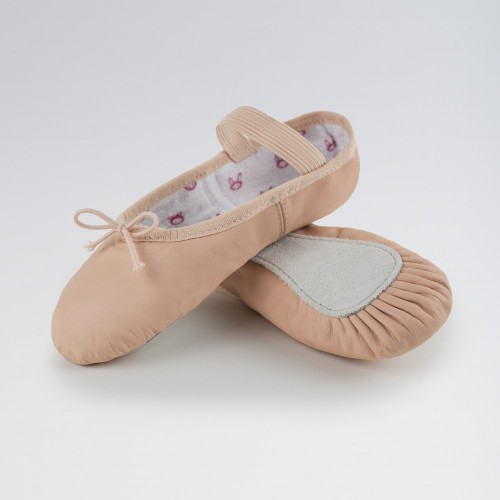e564f0e39f57 Bloch Bunnyhop Pink Leather Ballet Shoes